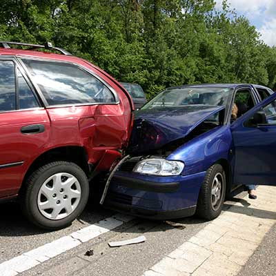 Call the auto wrecker when you have suffered extensive damage in a car accident