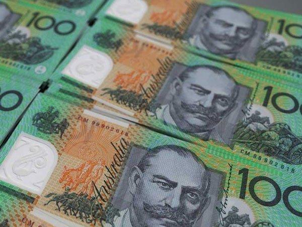 Set of Austalian Dollars
